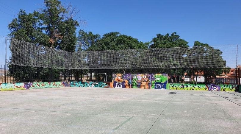 Rehabilitación de la pista deportiva de El Bosque