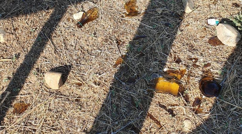 El abandono de residuos en verano aumenta el riesgo de incendios en nuestro entorno