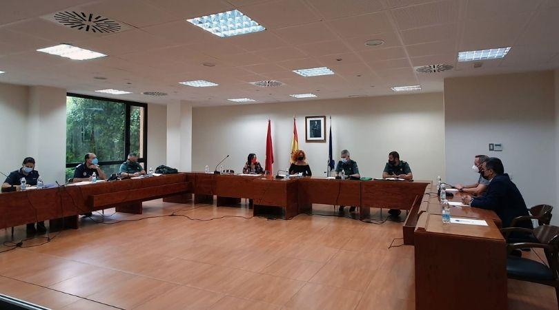 La Junta Local de Seguridad destaca la baja tasa de criminalidad en Velilla fruto del trabajo conjunto de vecinos y Fuerzas y Cuerpos de Seguridad del Estado