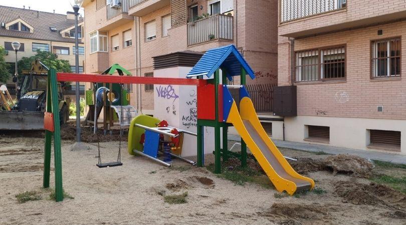 Remodelación del parque entre la calle Antonio Palacios y José de Hermosilla