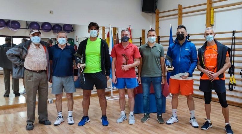 Entrega de trofeos del Ranking de Tenis Velilla de San Antonio