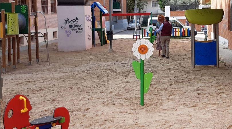 Finalizadas las obras de remodelación del parque de la cl Antonio Palacios