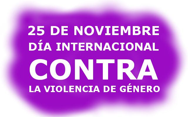 Noviembre, un mes de actividades contra la violencia de género
