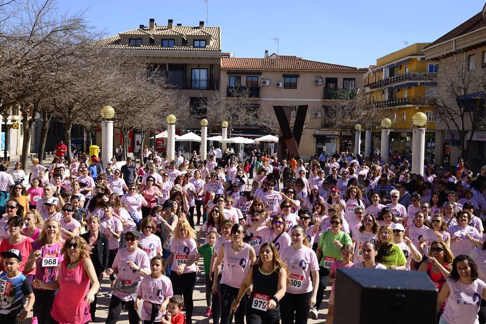 Gran éxito de participación en la IV Carrera de la Mujer