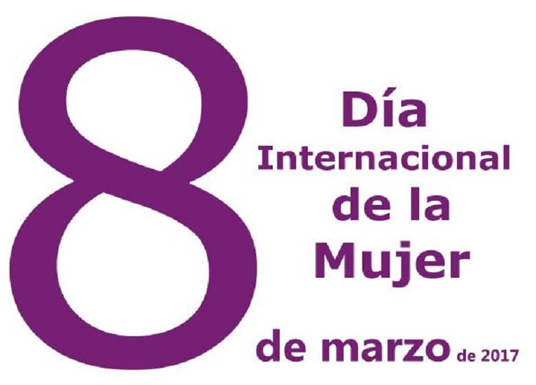 Concentración 8 de marzo, Día Internacional de la Mujer