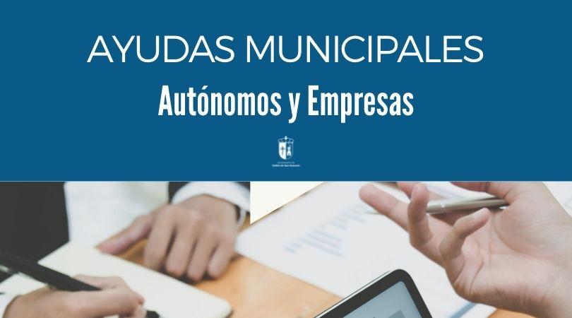 Del 13 al 24 de septiembre, plazo de presentación de solicitudes para las ayudas municipales a autónomos y empresas COVID-19