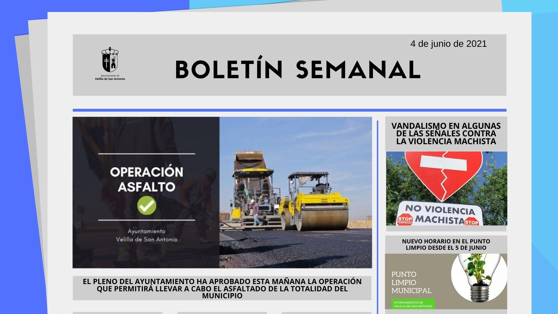 Boletín Semanal 21/2021