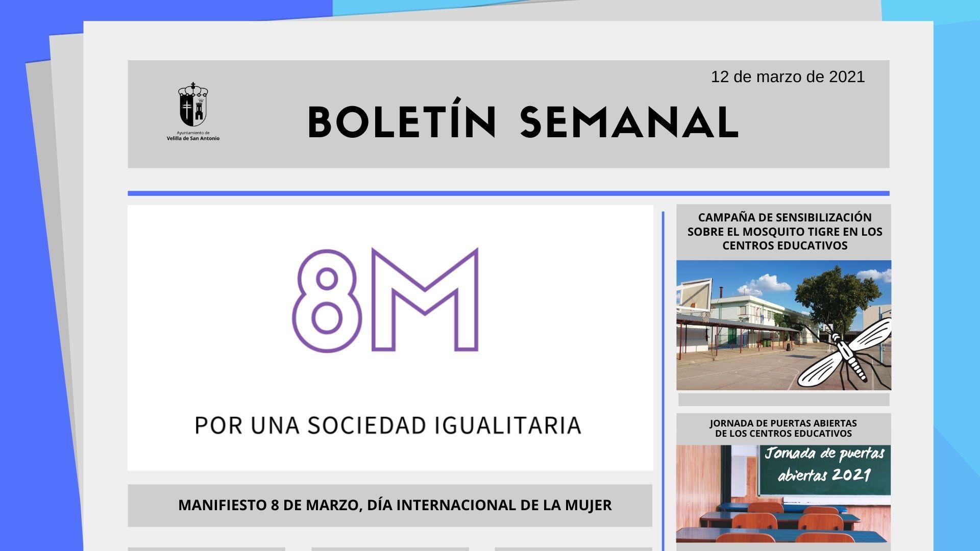 Boletín Semanal 10/2021