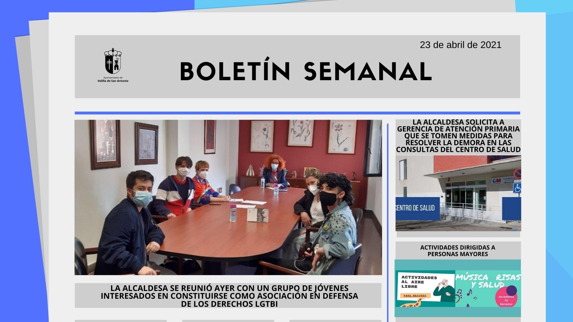 Boletín Semanal 15/2021