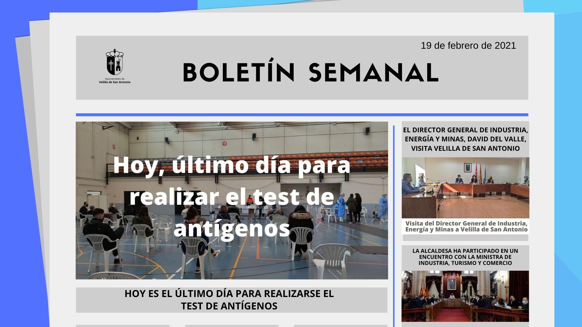 Boletín Semanal 7/2021