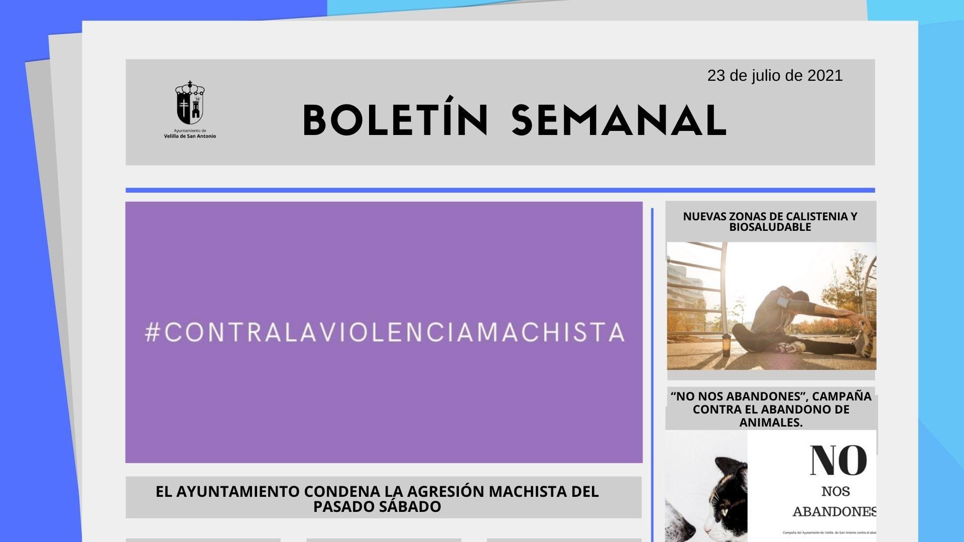 Boletín Semanal 28/2021