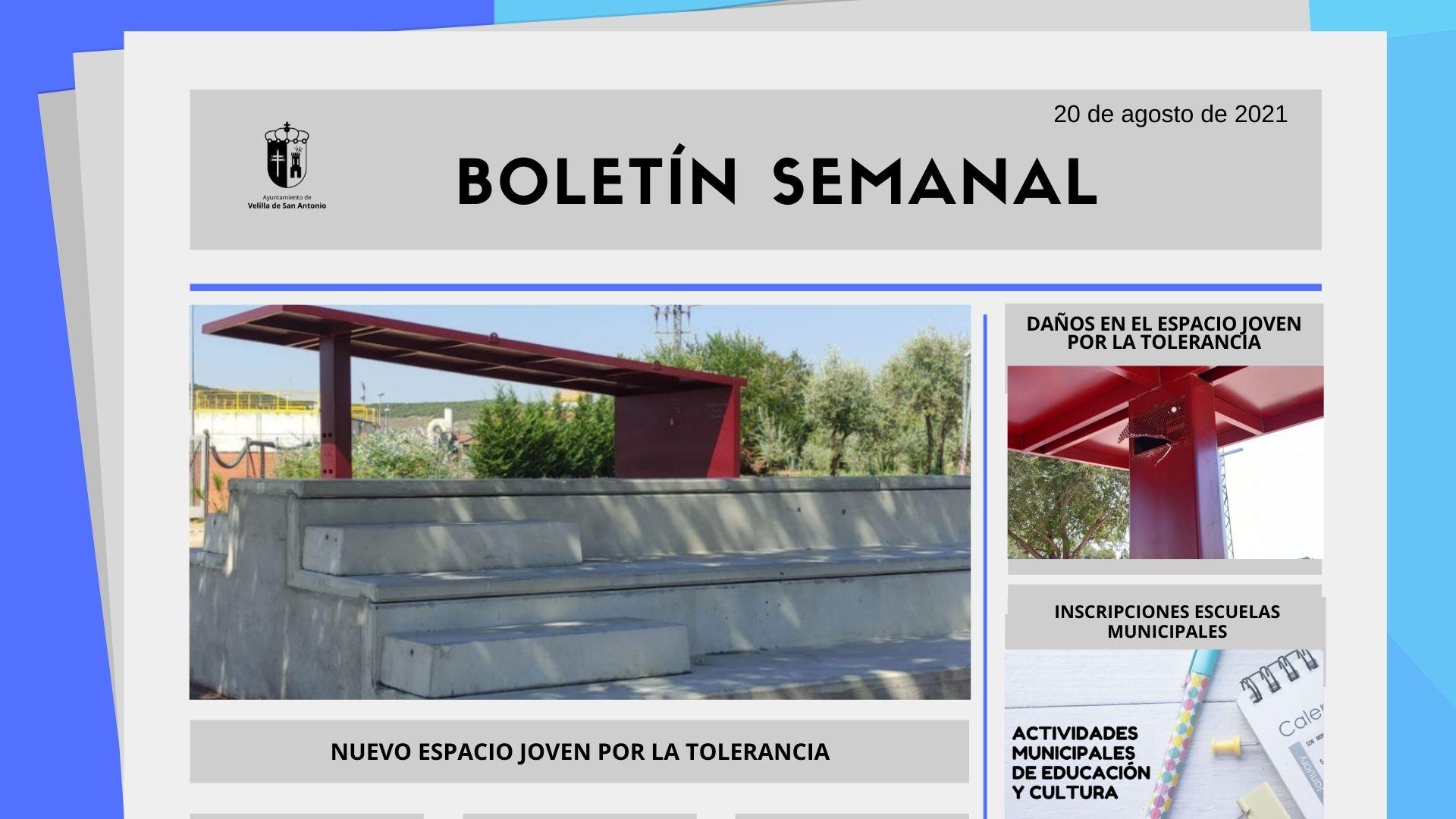 Boletín Semanal 32/2021