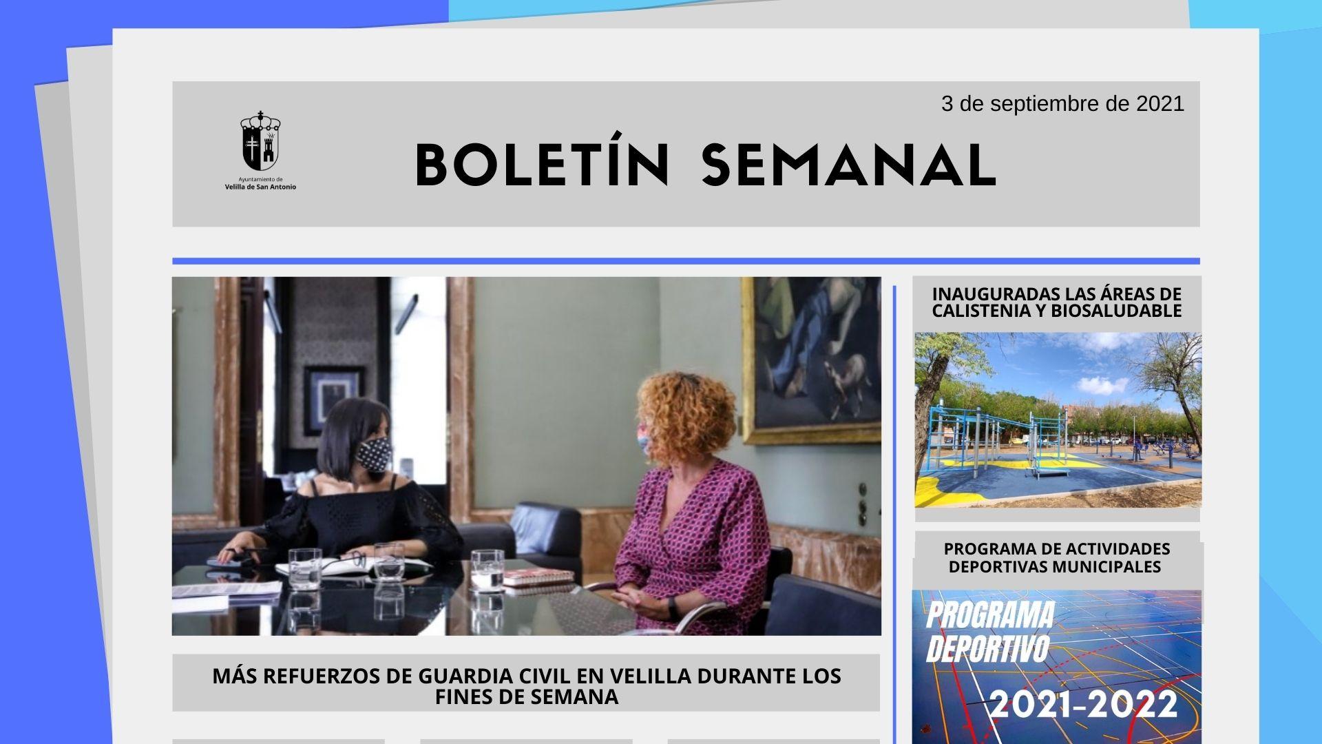 Boletín Semanal 34/2021