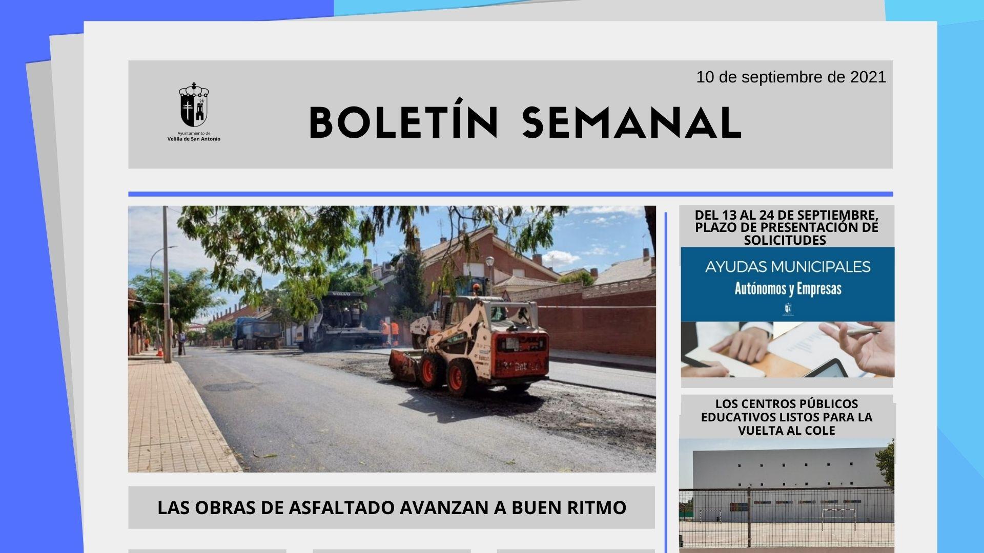 Boletín Semanal 35/2021