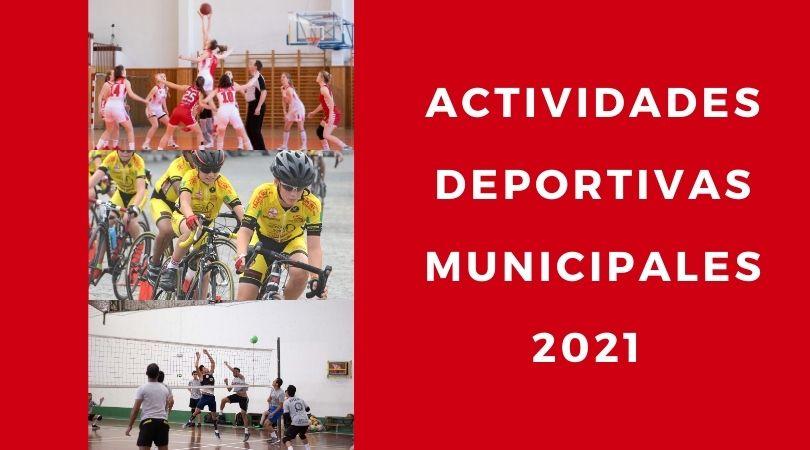 Actividades deportivas municipales 2021