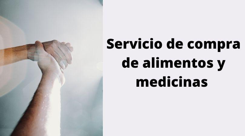 Servicio de compra de alimentos y medicinas