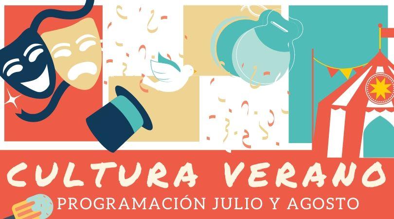 Programación Cultural julio y agosto