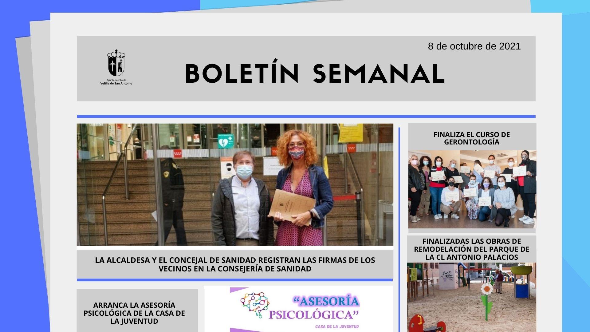 Boletín Semanal 39/2021