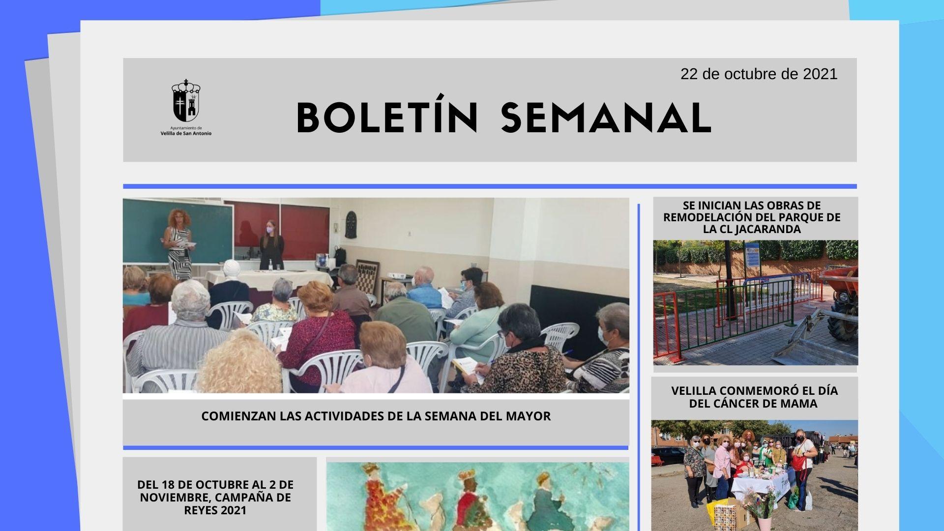 Boletín Semanal 41/2021