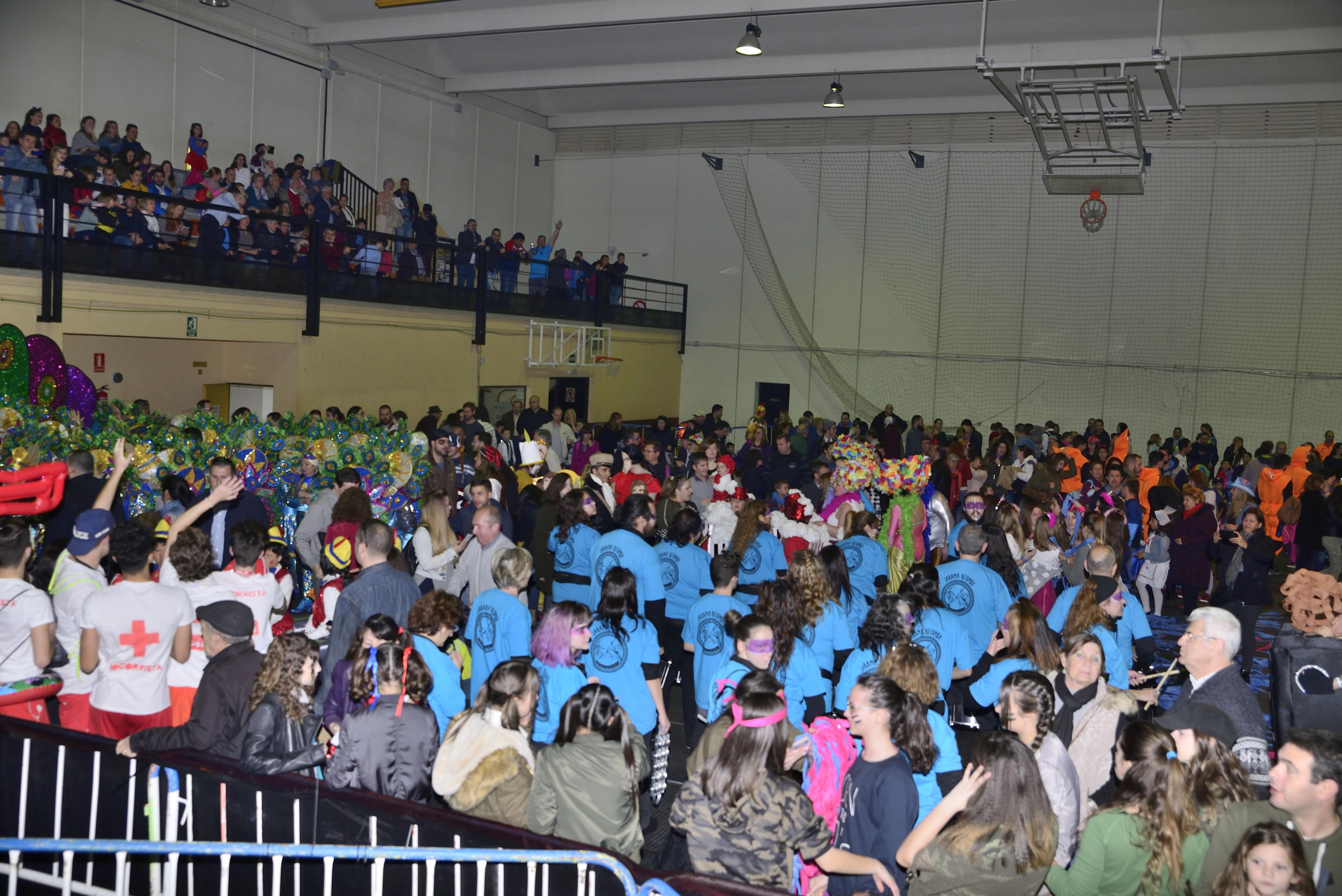 El sábado 25 de febrero, Velilla celebró el Carnaval