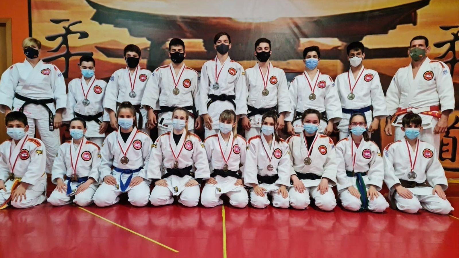 El club de Judo sigue sumando éxitos