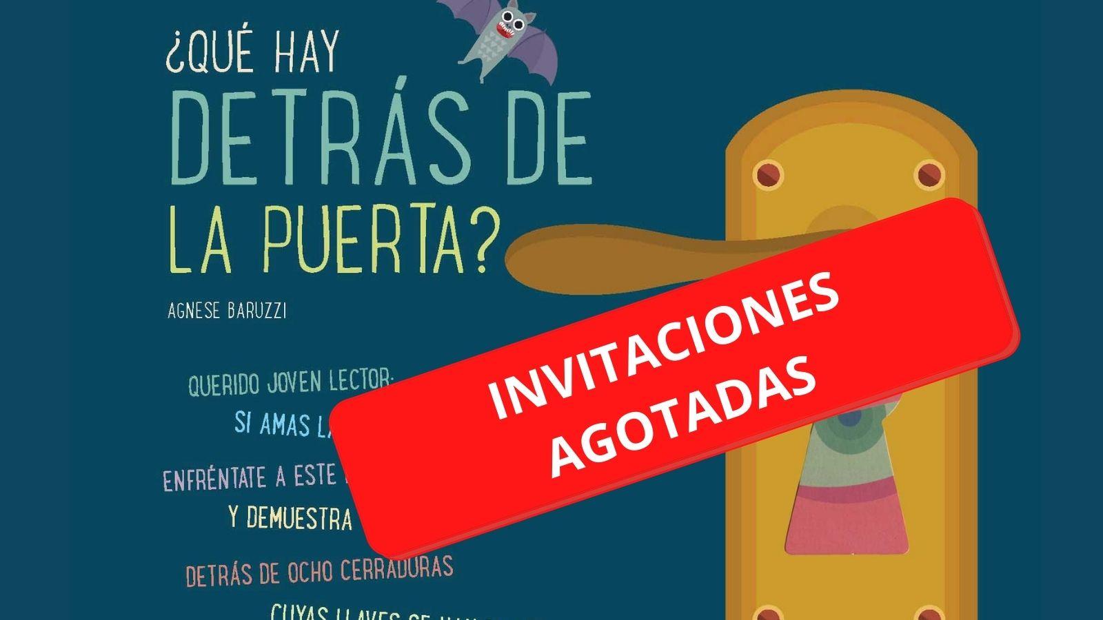 """Cuentacuentos """"¿Qué hay detrás de la puerta"""" de Esther Echevarría INVITACIONES AGOTADAS"""