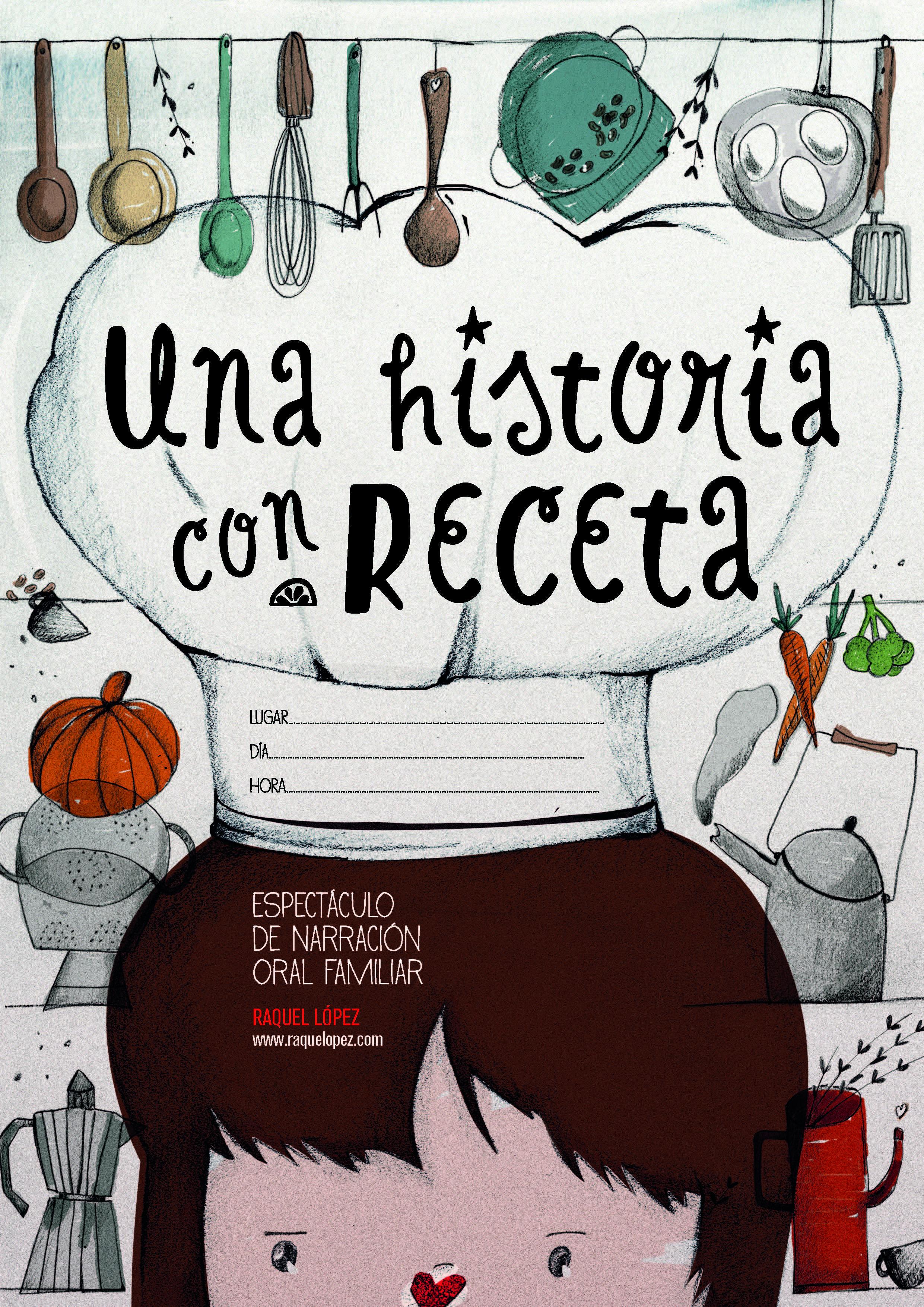 """Cuentacuentos """"Una historia con receta"""""""