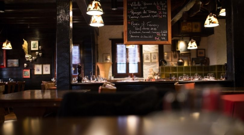 Uso de mascarilla en bares y restaurantes