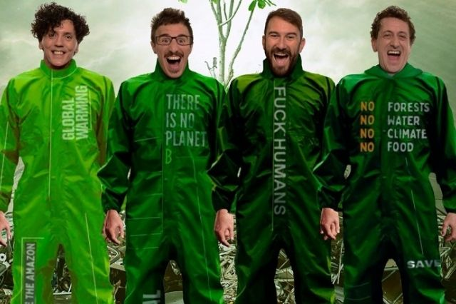 """Greenpiss"" de Yllana (Agotadas entradas online, disponibles solo en taquilla)"