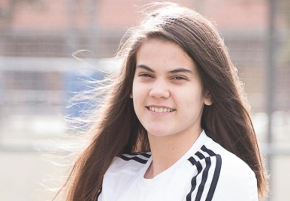Entrevista a Lucía Suárez, joven promesa del fútbol internacional y vecina de Velilla