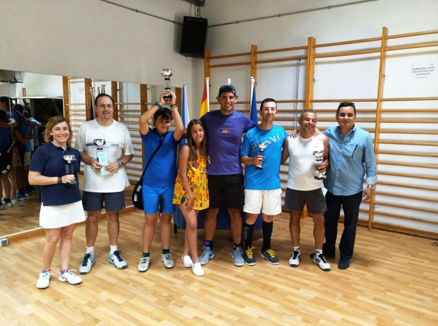 Trofeo primavera de tenis 2017 Velilla de San Antonio