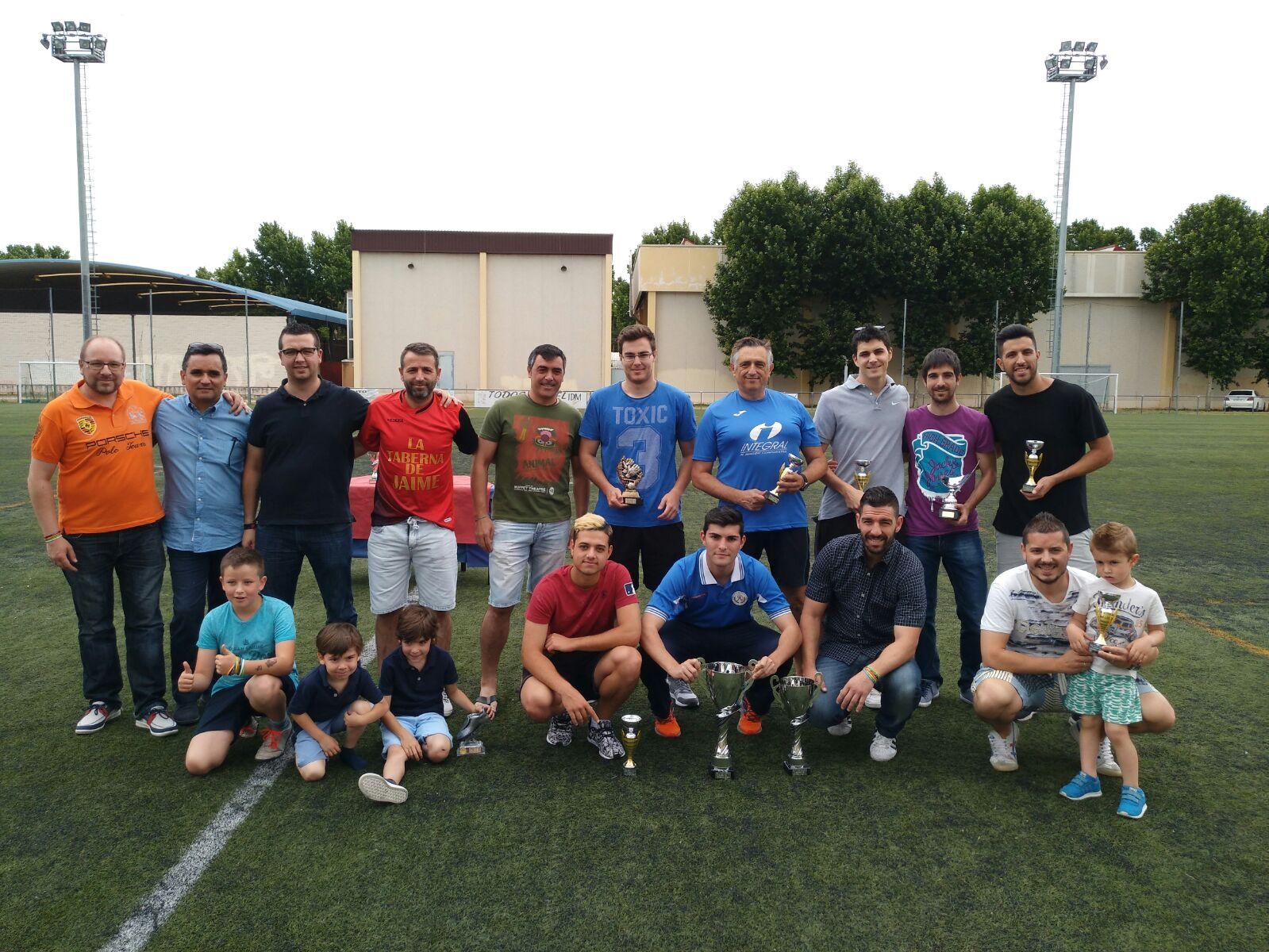 2017 Entrega Trofeos Liga Local Fútbol 7