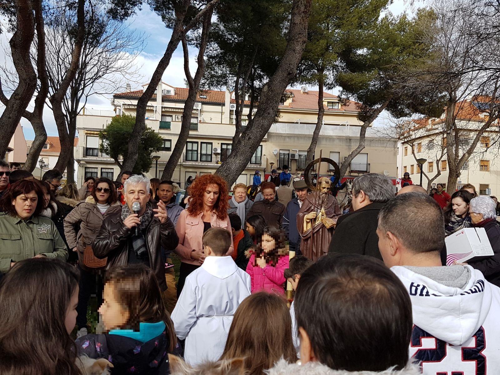 Buen ambiente y mucha participación en la celebración de San Antón