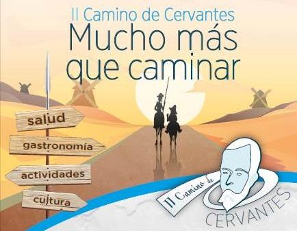 El Camino de Cervantes llega el próximo domingo 14 de mayo a Velilla de San Antonio