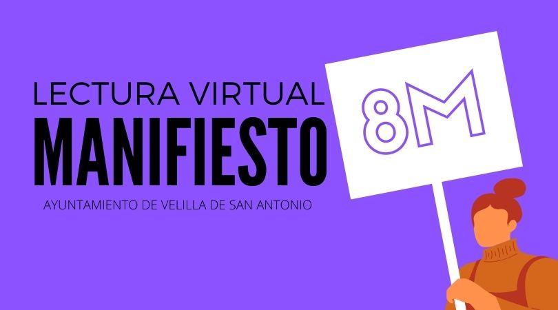 Lectura virtual del manifiesto 8 de marzo