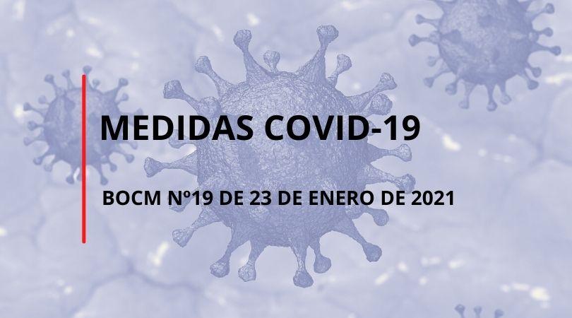 Nuevas medidas en la Comunidad de Madrid desde el 25 de enero