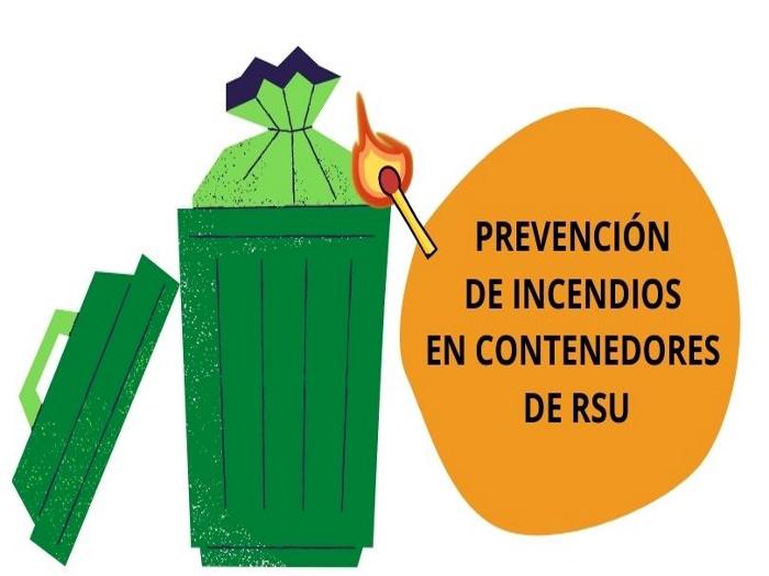 Prevención de incendios contenedores