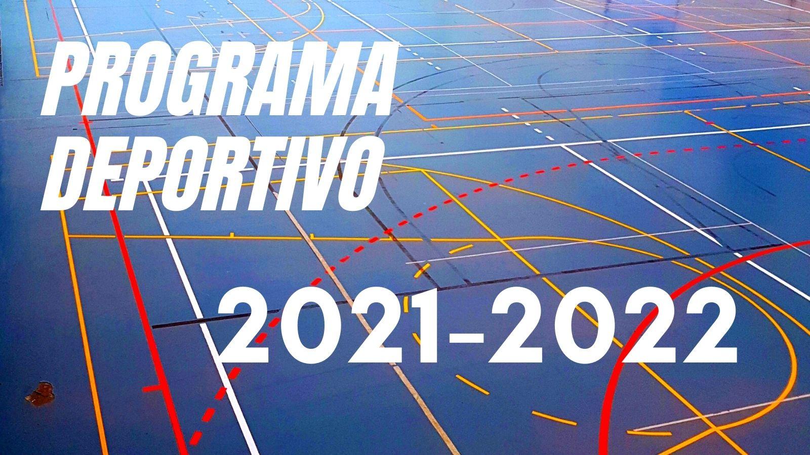 El área de Deportes presenta el programa de actividades deportivas municipales para el curso 2021-2022