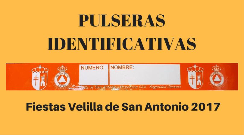 Protección Civil repartirá pulseras identificativas para los niños