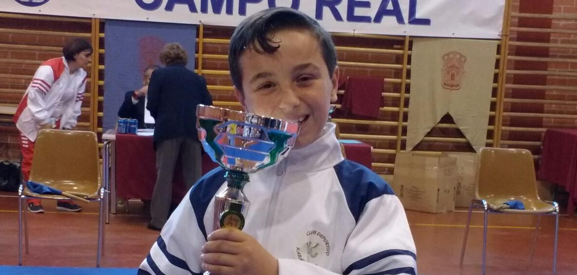 Pablo Benedi, campeón del Trofeo San Isidro de karate 2017
