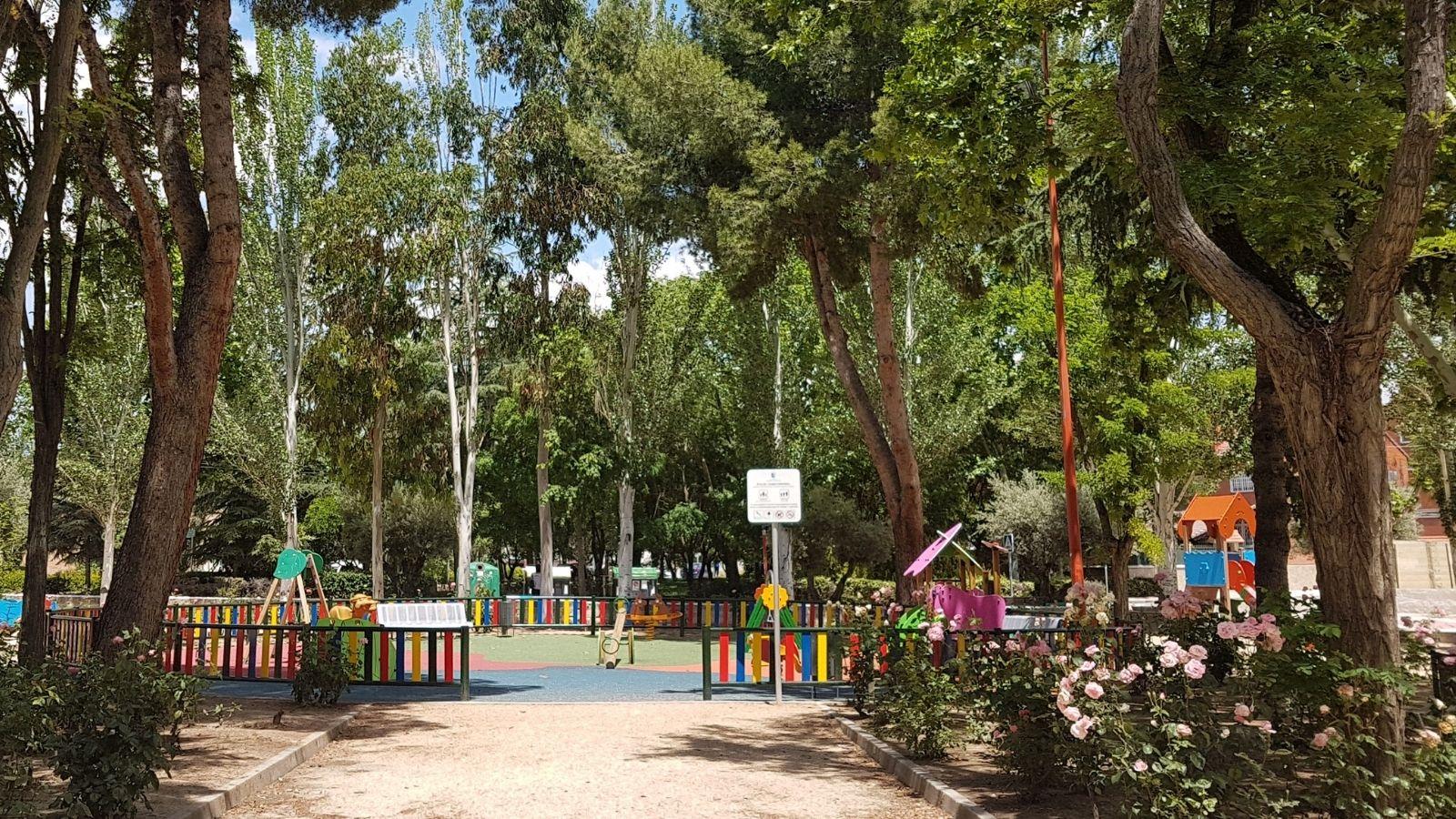 Inspección de plaga en el parque Catalina Muñoz