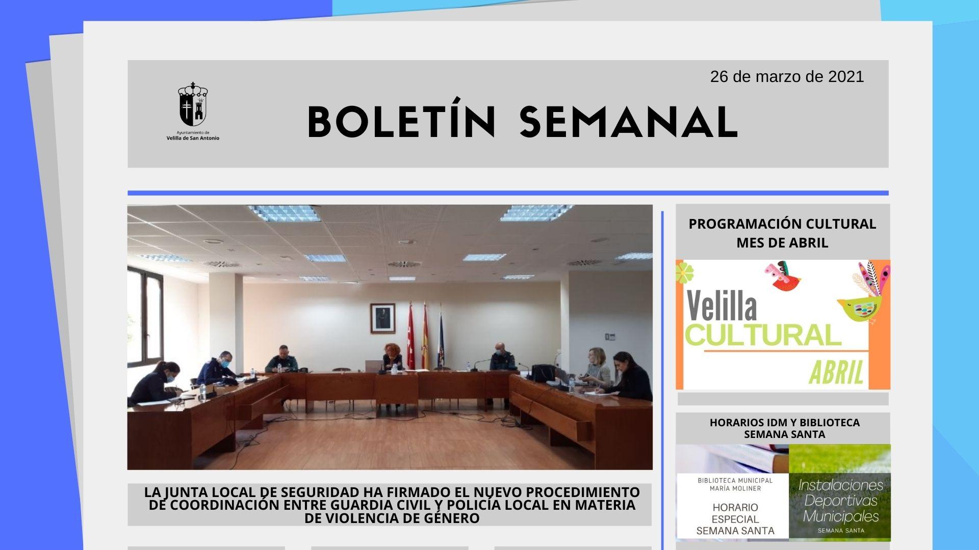 Boletín Semanal 12/2021