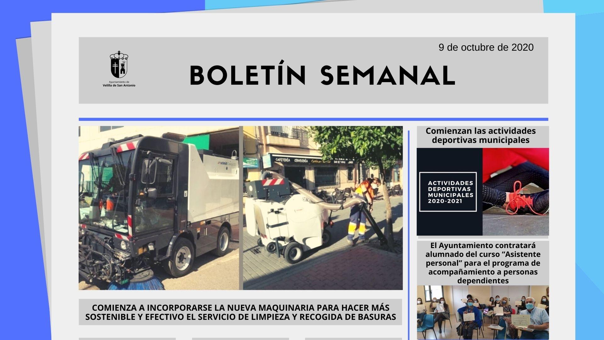 Boletín Semanal 41/2020