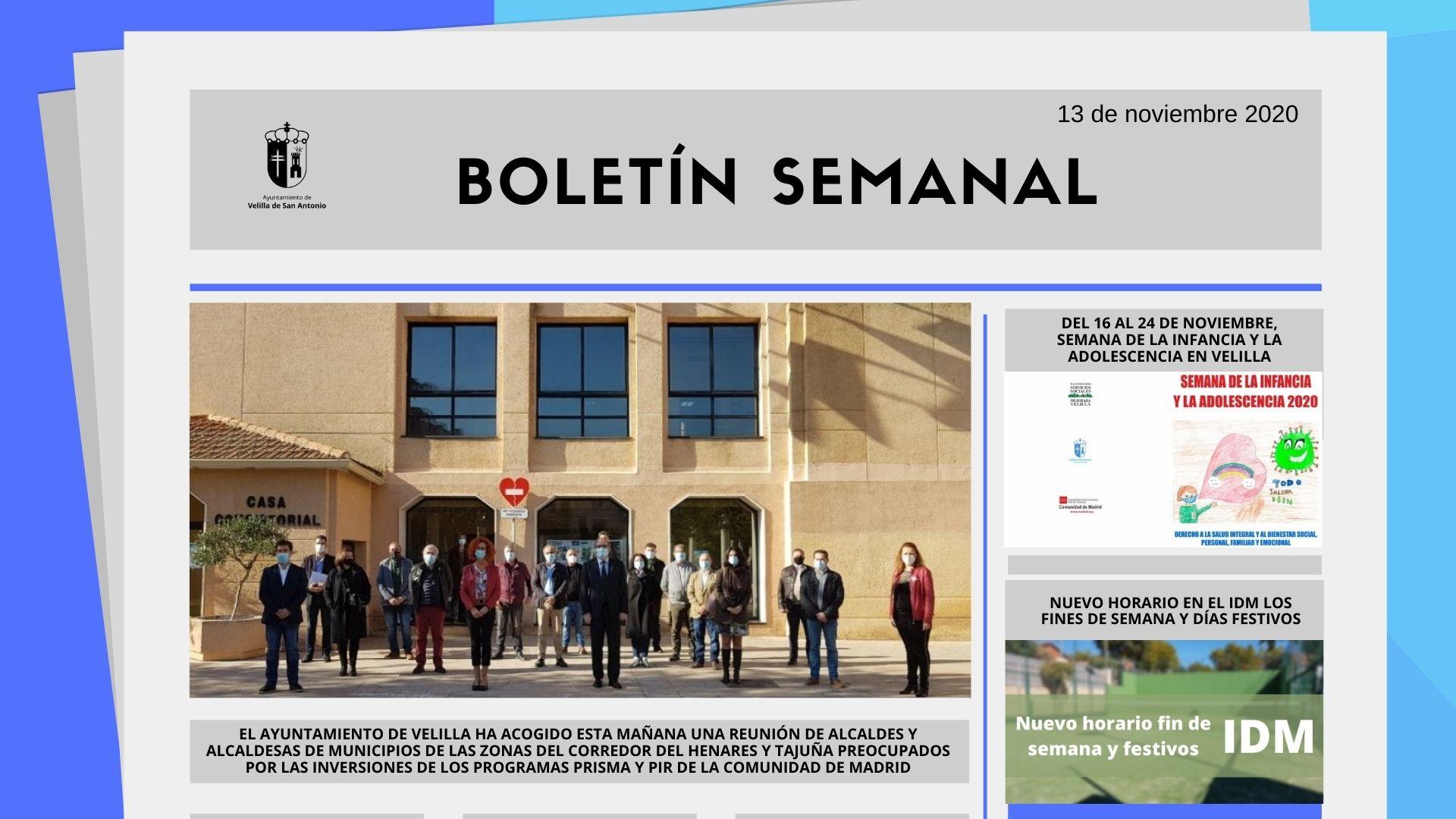 Boletín Semanal 46/2020