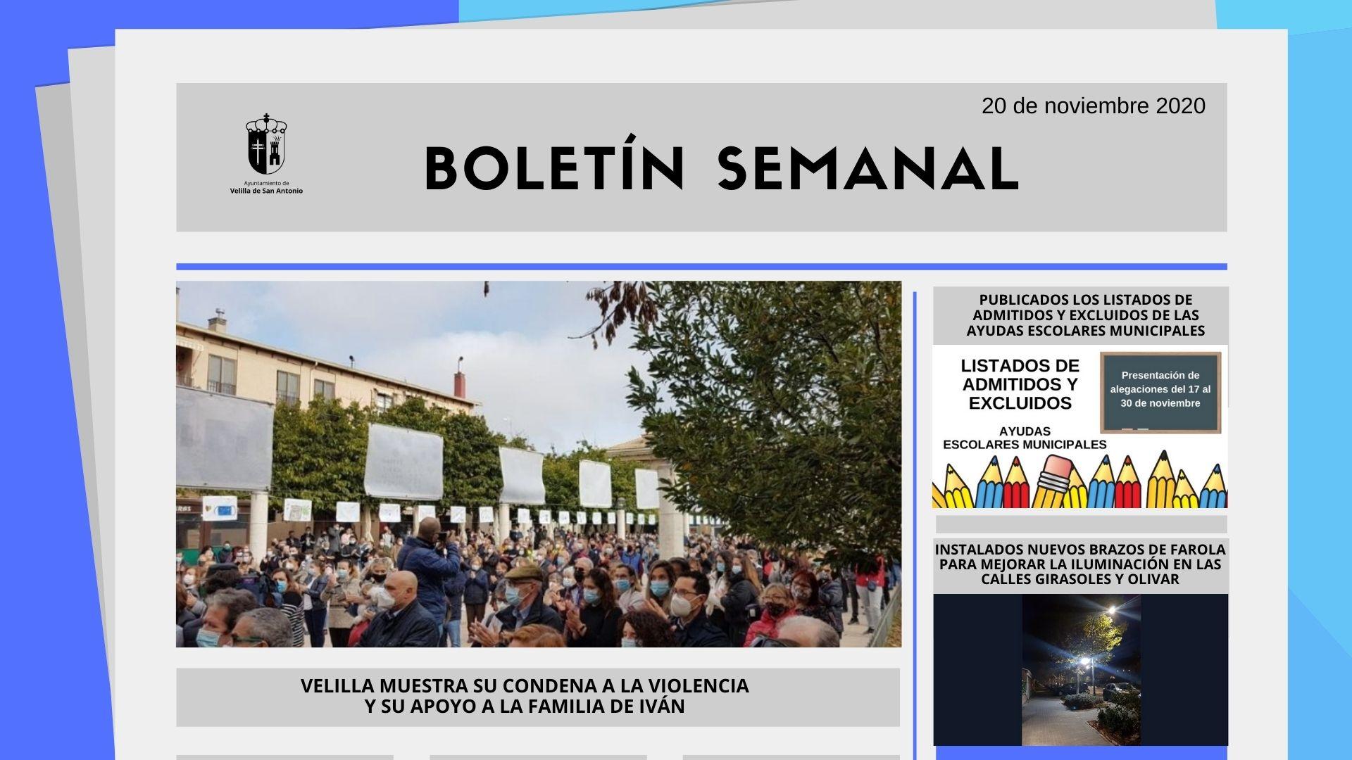 Boletín Semanal 47/2020