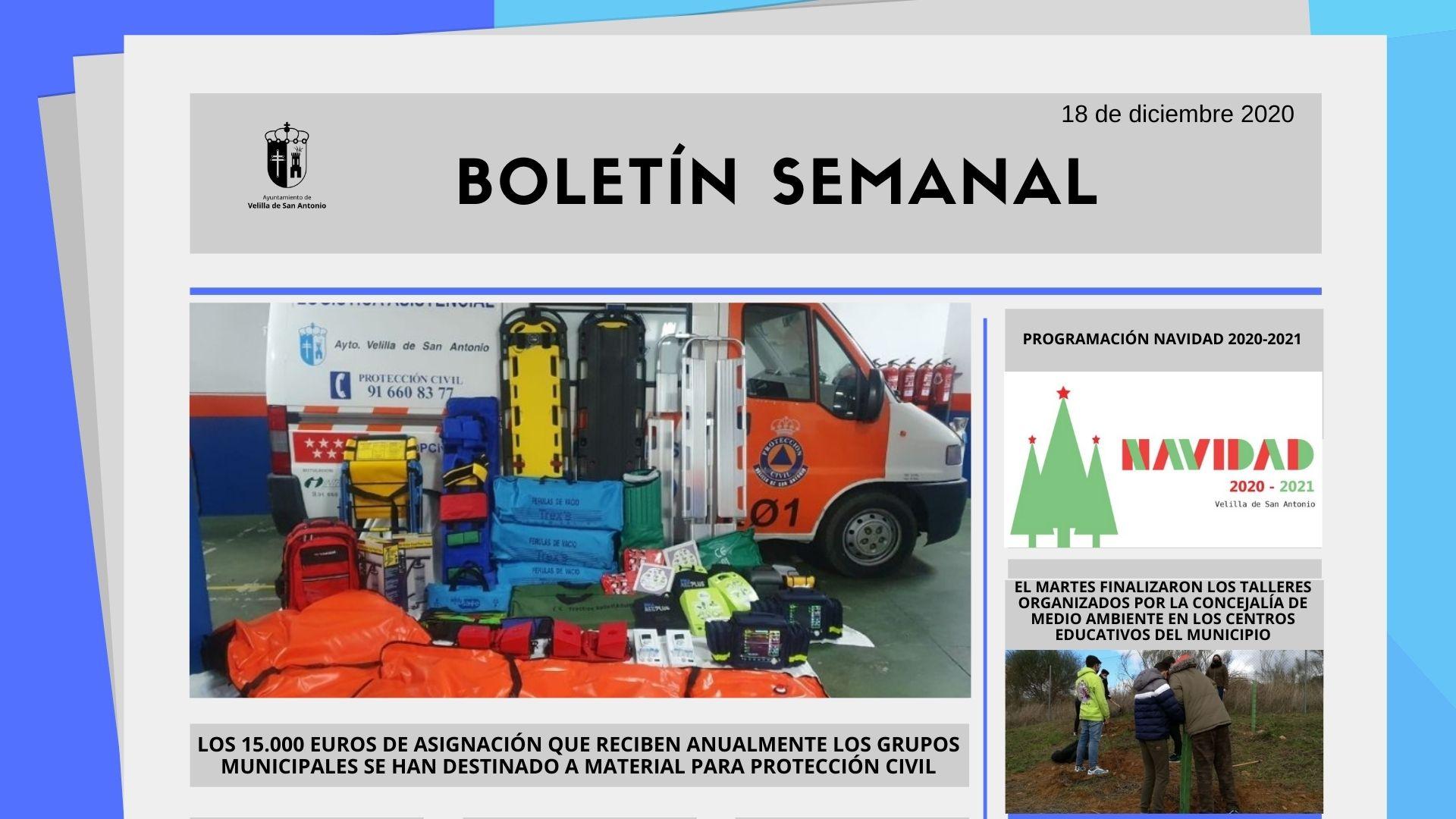 Boletín Semanal 51/2020