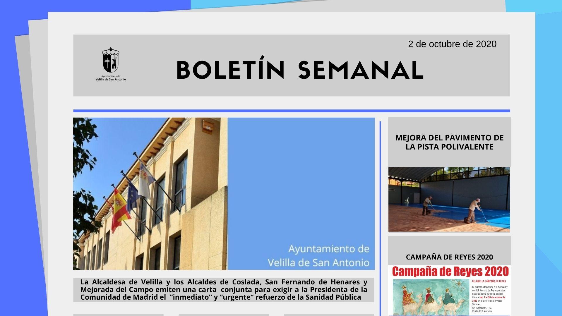 Boletín Semanal 40/2020