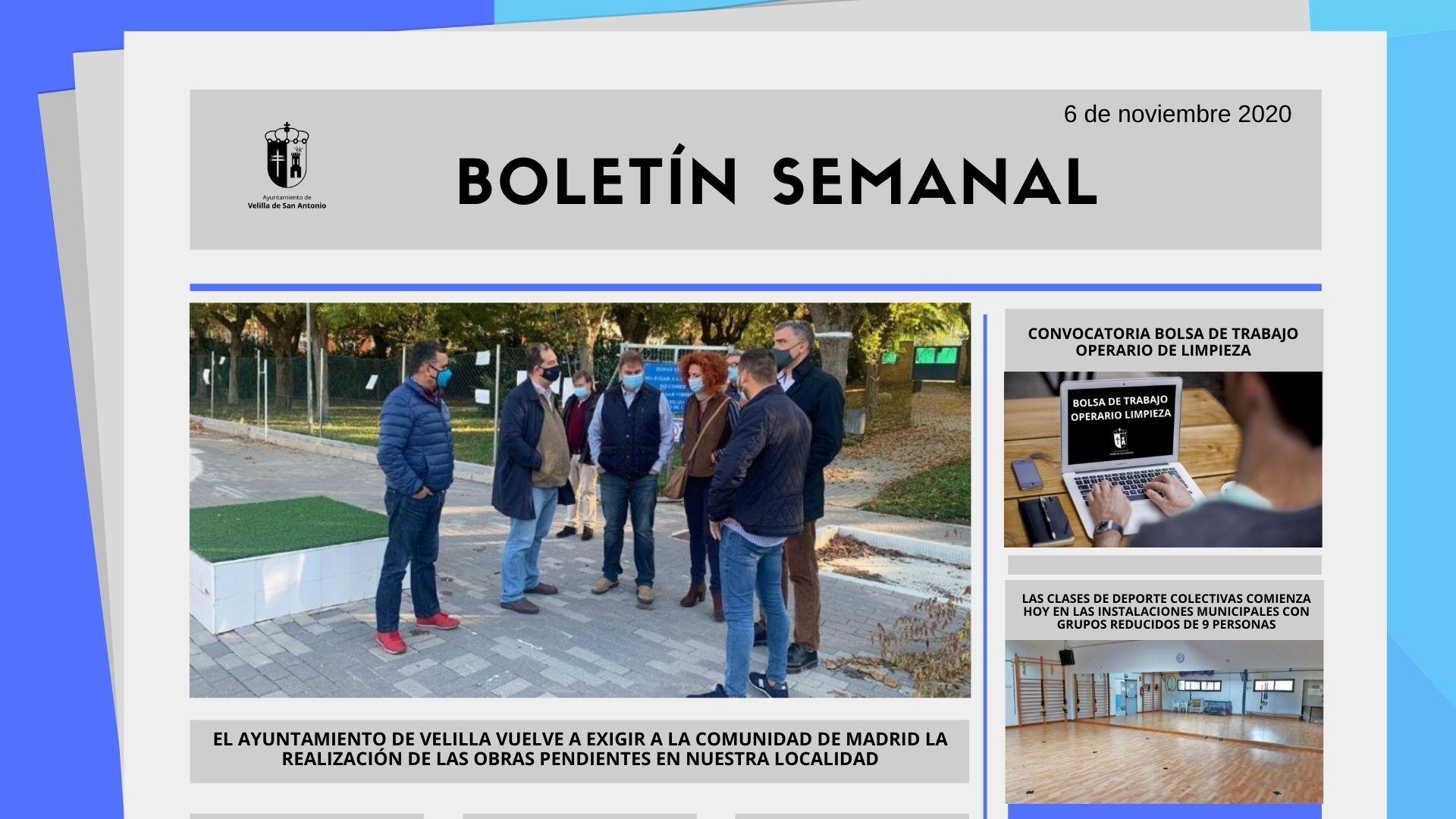 Boletín Semanal 45/2020