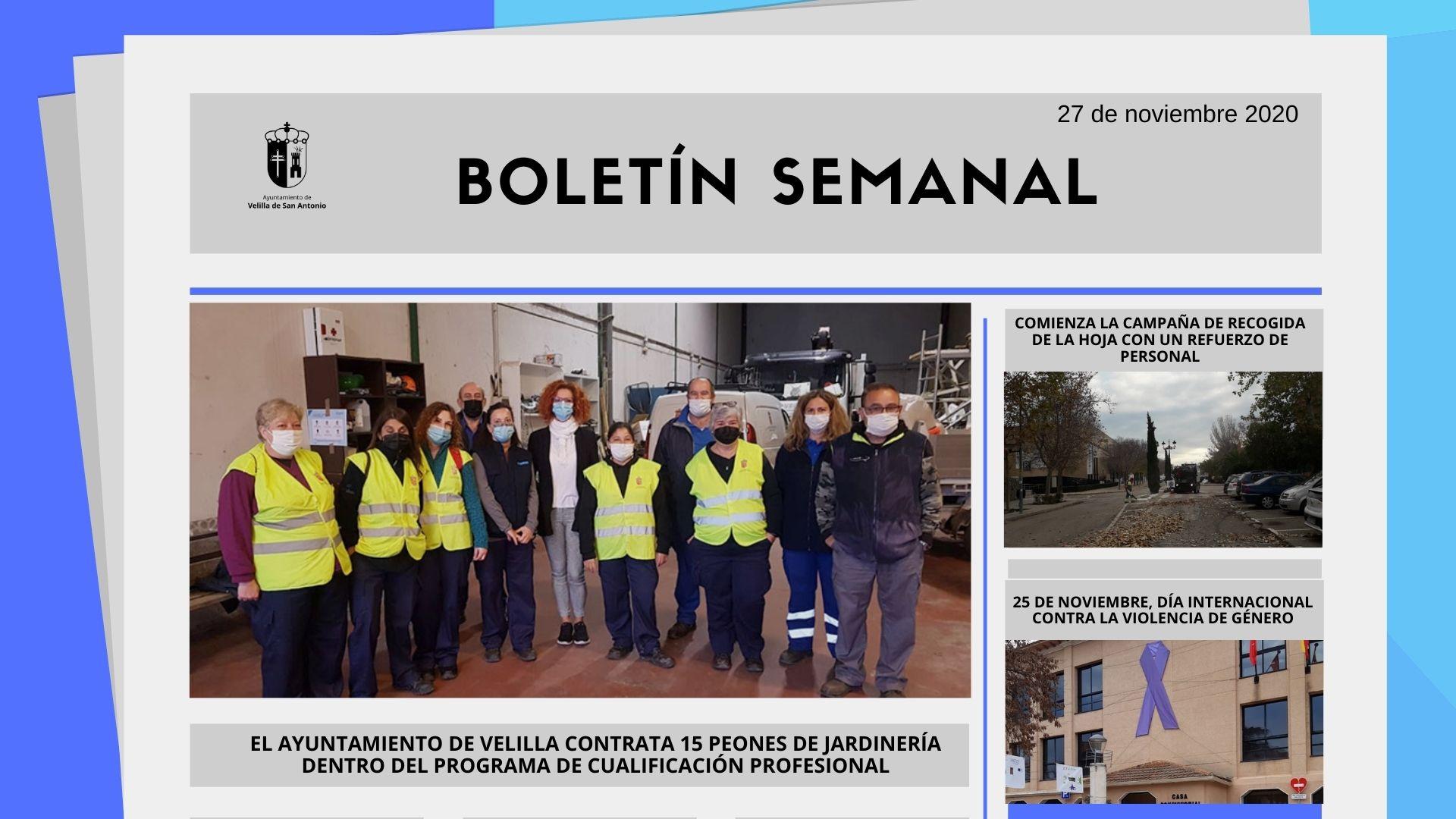 Boletín Semanal 48/2020