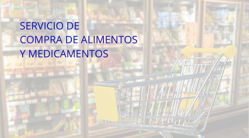 Servicio de compra de alimentos y medicamentos